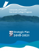 Cover of Hawaii Sea Grant Strategic Plan 2018-21