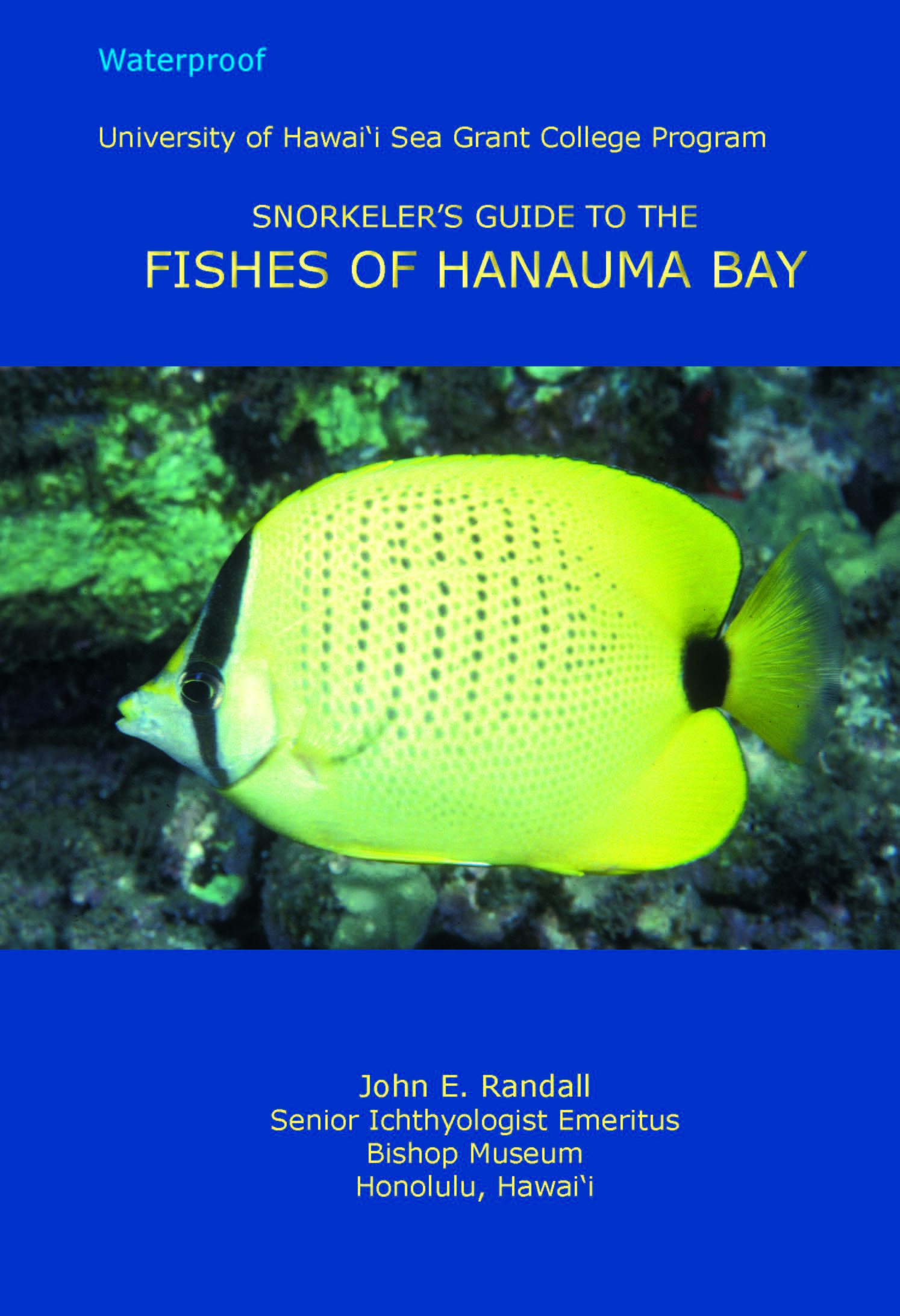 Cover of Snorkeler's Guide to the Fishes of Hanauma Bay
