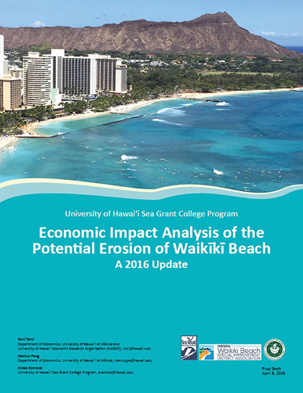 Cover of Waikiki Economic Impact Study