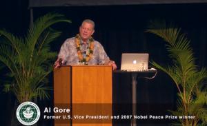 Al Gore speaks at 2014 Pauley Seminar