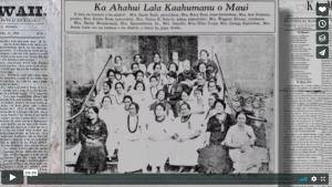 voice of the sea season 4 episode 4, Translating Hawaiian Newspapers