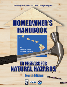 cover of the fourth edition of the Homeowners Handbook to Prepare for Natural Hazards