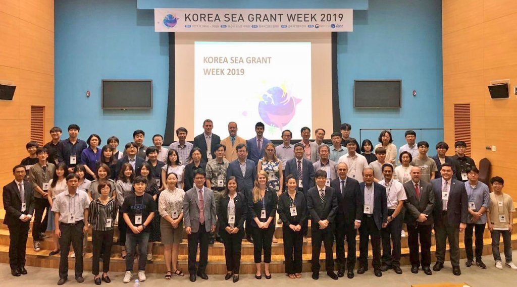 Korea Sea Grant week meeting attendees