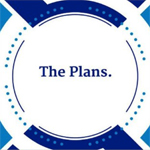 "Graphic saying ""The Plans"""