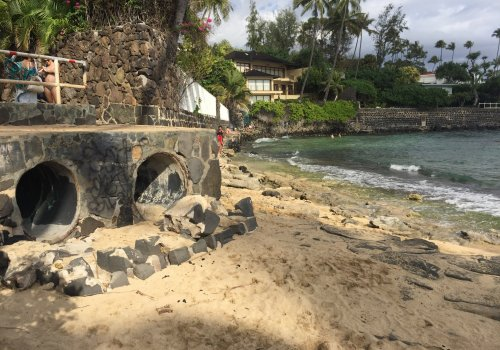 Stormwater Outfall to Ocean