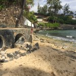 Stormwater Outfall at Cromwell's Beach
