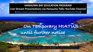 Hanauma Talks Event Calendar
