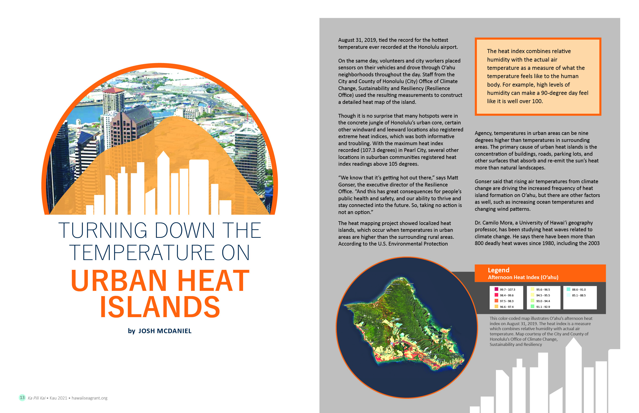 Turning Down the Temperature on Urban Heat Islands