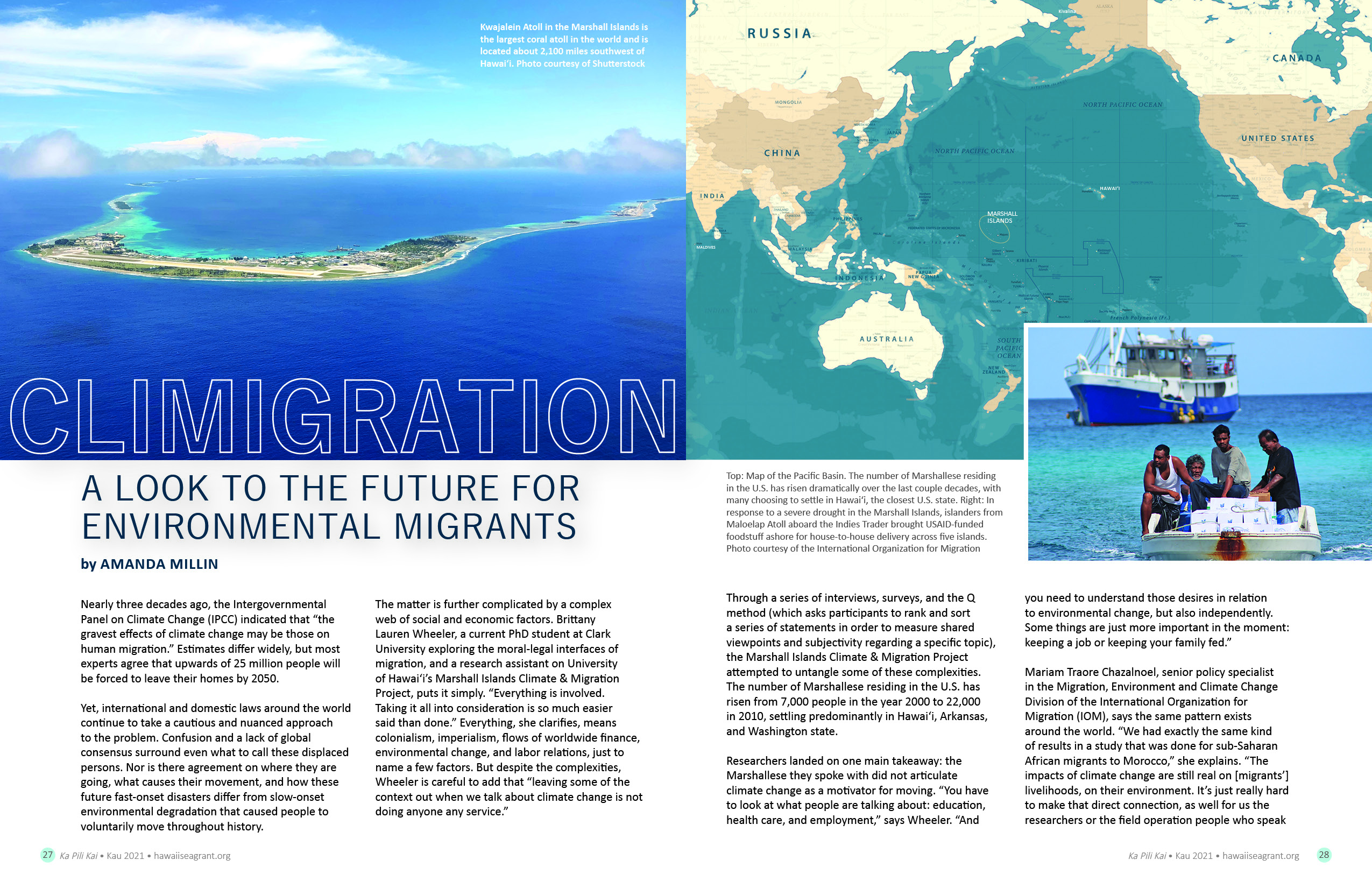 Climigration: A look to the future for environmental migrants